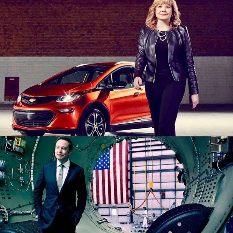 Mary Barra, CEO de General Motors, fue incluida en el ranking junto a Elon Musk de Tesla Inc. Ambos representan dos enfoques distintos en lo que hace al futuro de una automotriz en la era de los vehículos autónomos y eléctricos