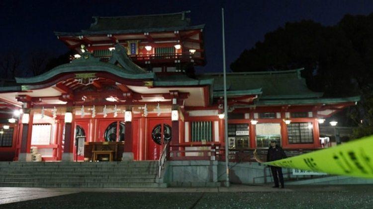 Santuario Tomioka Hachimangu. (Reuters)