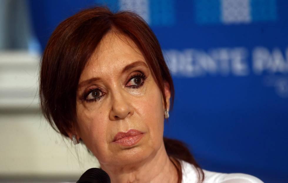 Cristina Fernández de Kirchner, este jueves en Buenos Aires.