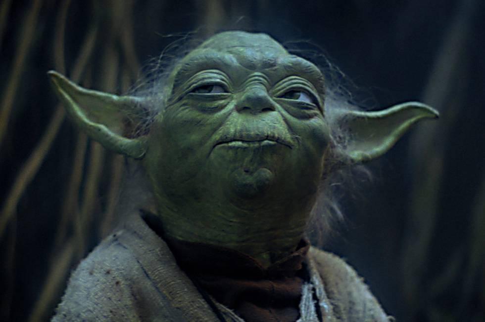 Yoda, uno de los personajes más populares de la saga de