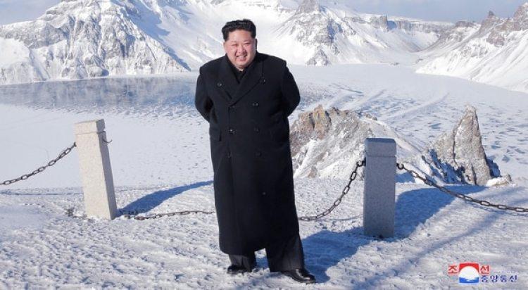 Kim se dirigió al Monte para celebrar la última prueba nuclear de la dictadura (Reuters)