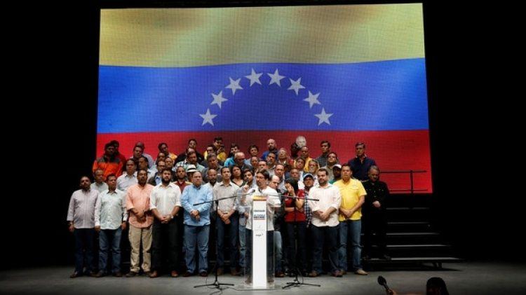 La Mesa de Unidad Democrática, la oposición venezolana (Reuters)