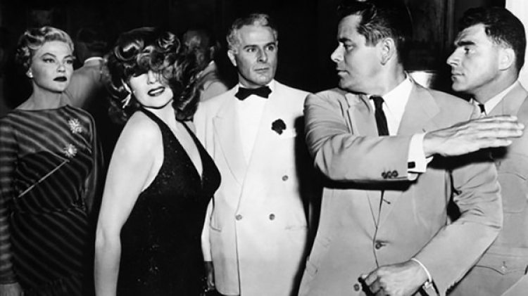 "La famosa escena de la cachetada en ""Gilda"""