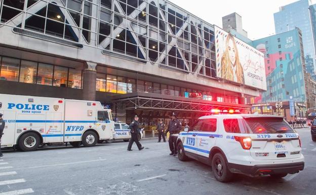 Un detenido en Nueva York tras una explosión cerca de Times Square