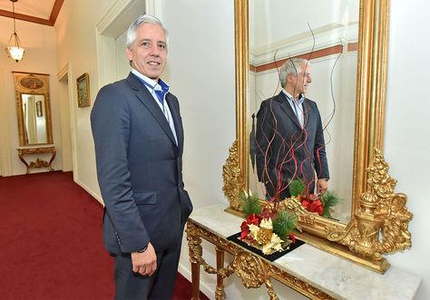 Entrevista. Hace unos días, García Linera recibió a La Razón en instalaciones del Palacio Quemado.