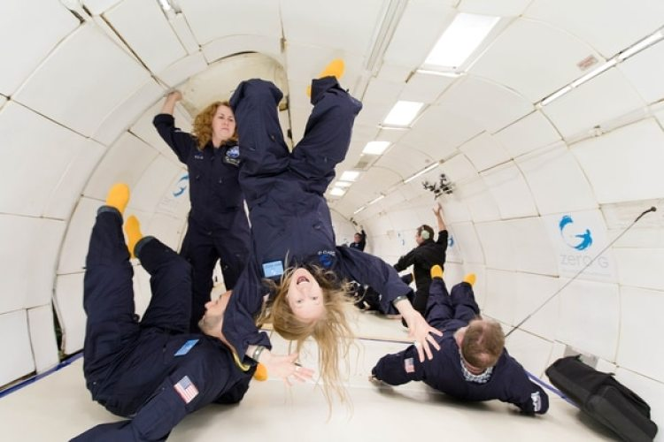 (Steve Boxall/Cortesía de Zero Gravity Corp/The Washington Post)