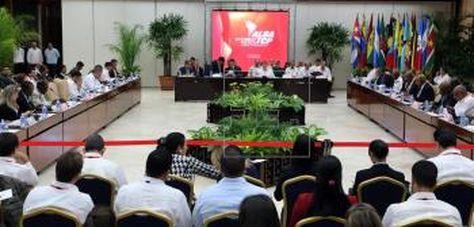 La sesión de apertura del XVI Consejo Político de la ALBA en La Habana