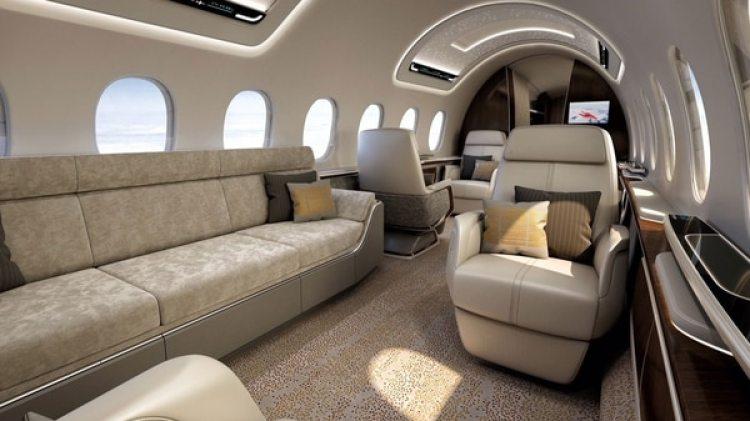 El exclusivo jet tendrá capacidad para 12 pasajeros.