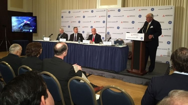 "La conferencia de prensa de presidentación del Aerion AS"", este viernes, en Washington DC"