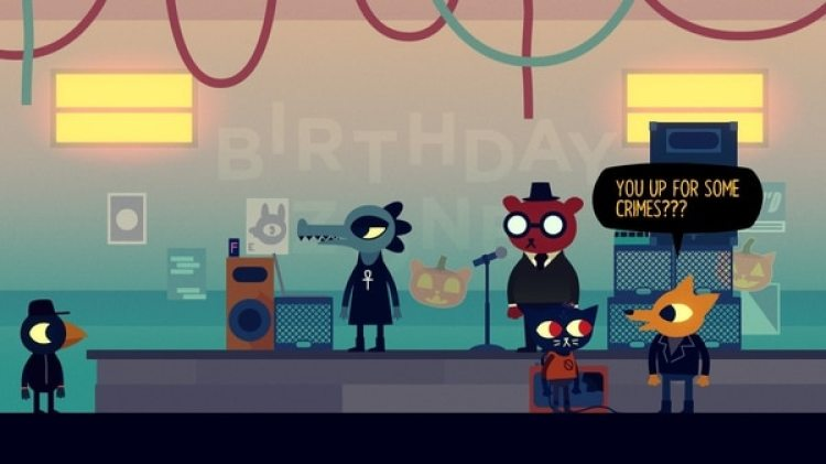 "Captura del videojuego ""Night in the Woods"" (Cortesía)"