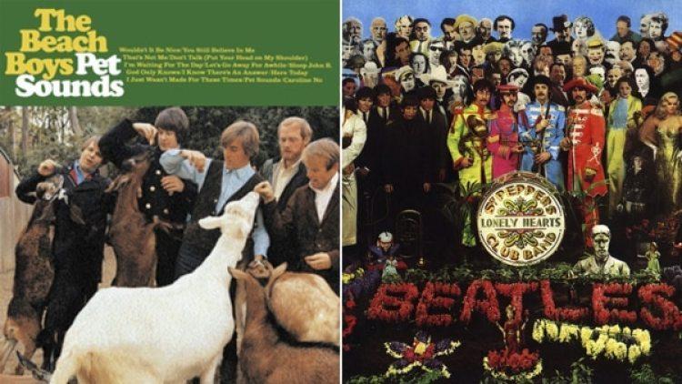 """Pet sounds"", de los Beach Boys, y ""Sgt Peppers lonely hearts club band"", de The Beatles"