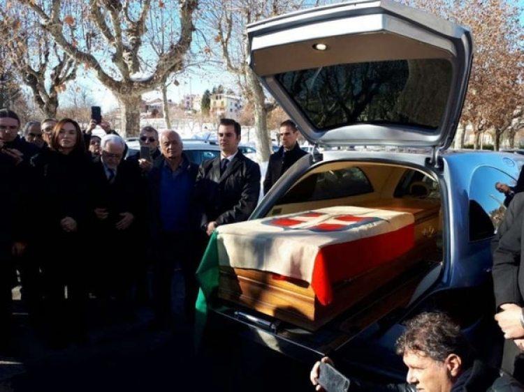La llegada de los restos de Victor Manuel en Vicoforte, en Italia