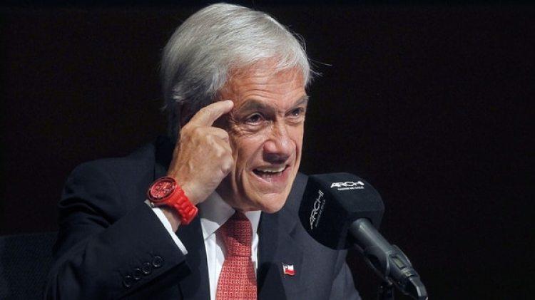 Sebastián Piñera pidió por el respeto de los derechos en Venezuela(AFP)