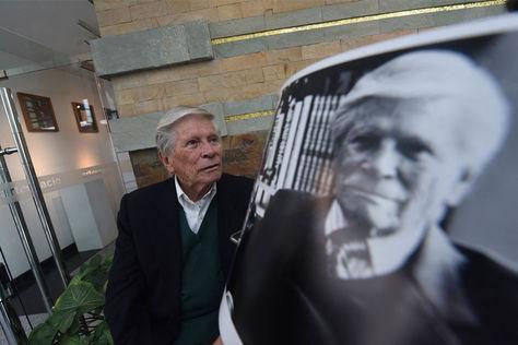 El reconocido arquitecto Juan Carlos Calderón. Foto: La Razón