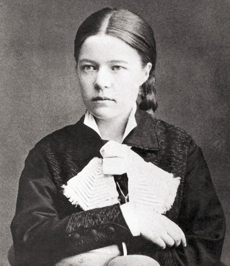 Selma Lagerlöf en su juventud