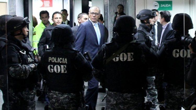 Jorge Glas, aliado de Rafael Correa dentro del gobierno de Lenín Moreno (Reuters)