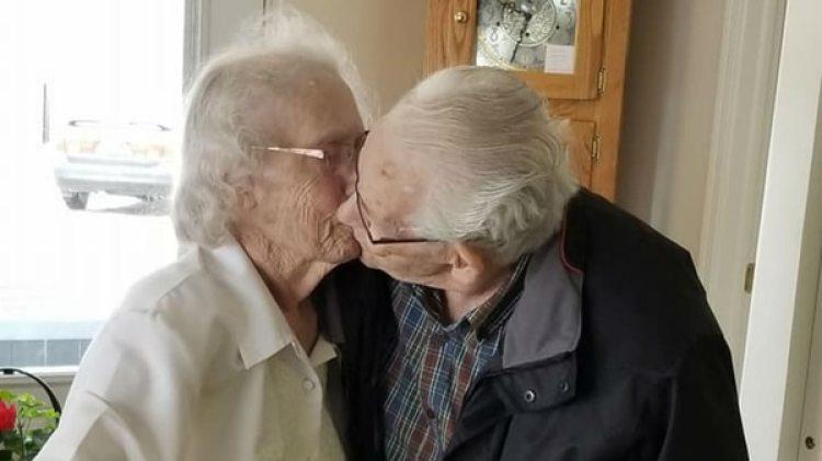 Herbert y Audrey Goodine (Dianne Goodine Phillips/ Facebook)