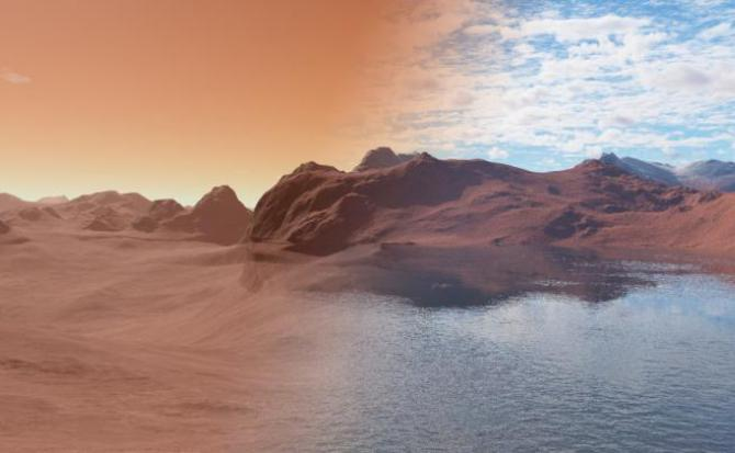 ¿Por qué desapareció el agua de Marte?