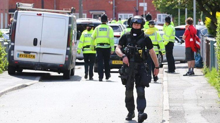 Operativo de la policía inglesa (Imagen de archivo)