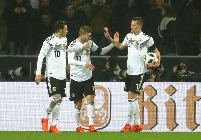 Resultado de imagen para seleccion alemana 2017