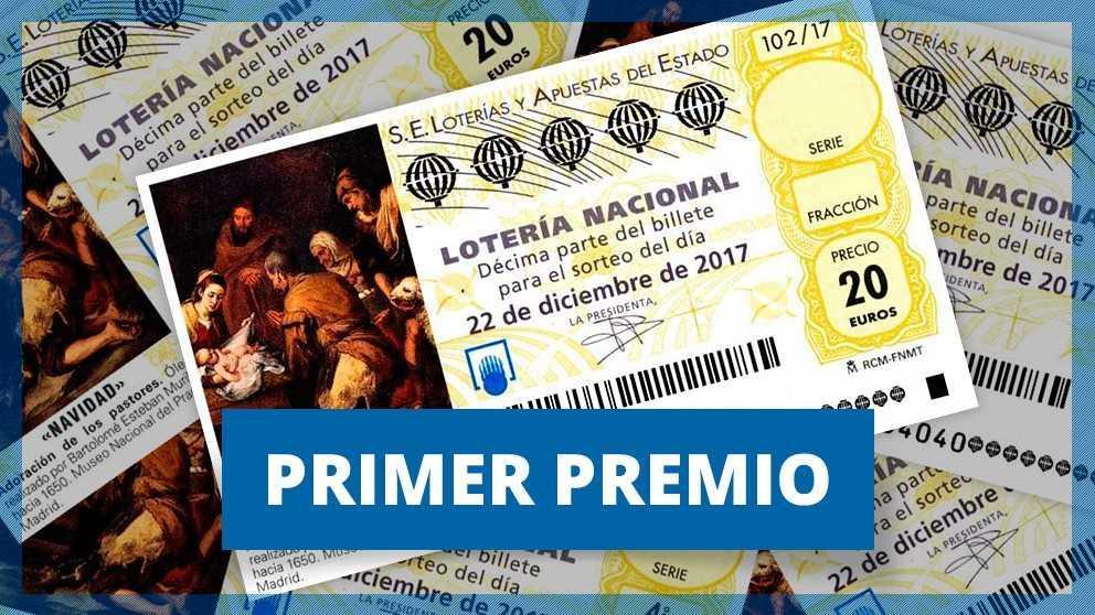 71198, el Gordo de la Lotería de Navidad 2017 cae en Lugo y Málaga