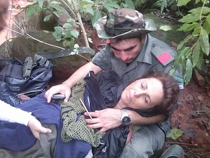 Lía, la médica que se perdió una semana en la selva y volvió a sonreír a 4 años después