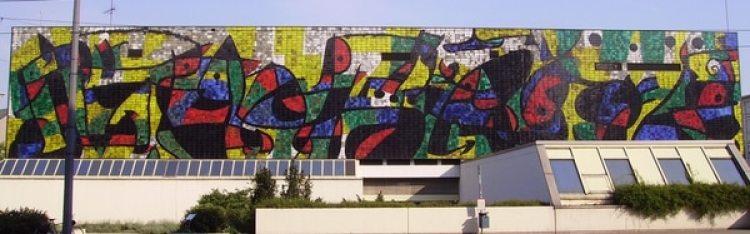 Mural cerámico en Ludwigshafen, Alemania (1971)