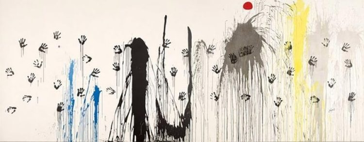 """""""Manos volando hacia las constelaciones"""" (1971)"""