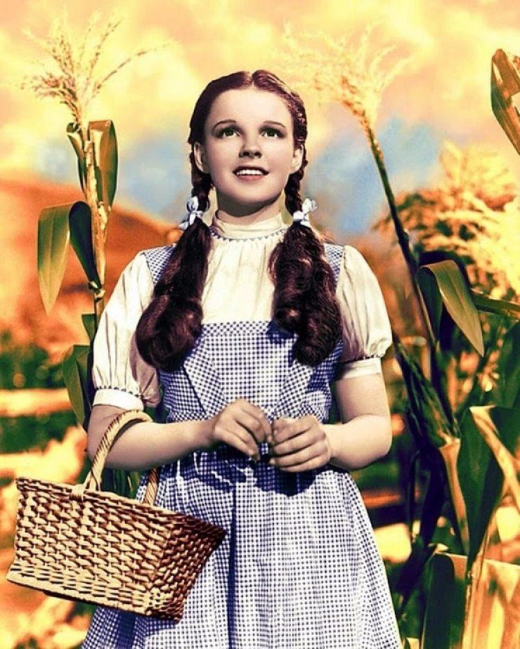 """La actriz y su rol emblemático en el """"Mago de Oz"""""""