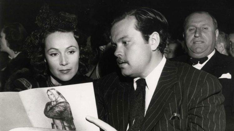 Dolores, junto a Orsona Welles