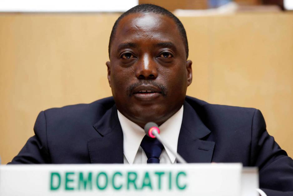 El presidente Joseph Kabila asiste a un evento sobre la estabilidad del Congo en la Unión Africana, en 2013. (Reuters)