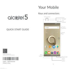 imágenes del Alcatel 5