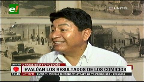 Elecciones judiciales: Diputado Montaño dice que la oposición no ganó y que se dio un empate técnico