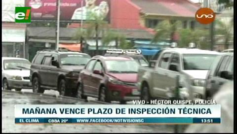 Mañana vence plazo para la inspección técnica vehicular