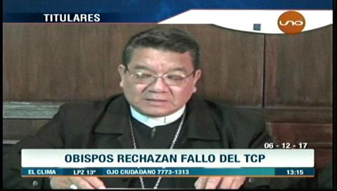 Video titulares de noticias de TV – Bolivia, mediodía del miércoles 6 de diciembre de 2017