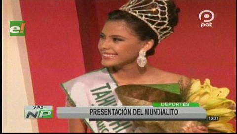 Coronan a la Reina del Mundialito Tahuichi Paz y Unidad