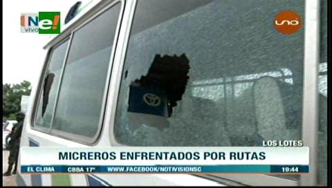 Transportistas se enfrentan por rutas en la zona de Los Lotes