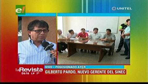 Santa Cruz: Nuevo gerente del Sinec fue posesionado en medio de protestas