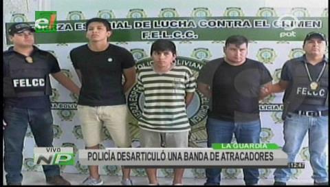 Santa Cruz: Policía desarticula una banda de atracadores