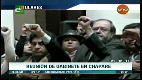 Video titulares de noticias de TV – Bolivia, mediodía del jueves 21 de diciembre de 2017