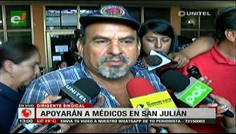 San Julián marchará en apoyo a los médicos