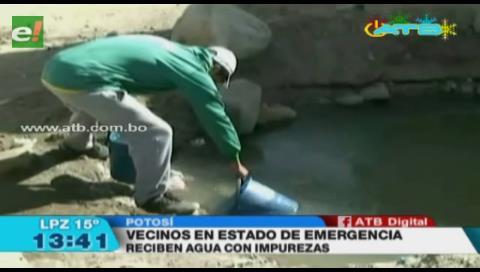 Potosí continúa en emergencia por la escasez de agua