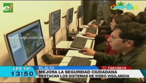 La inseguridad en El Alto disminuyó en un 50%, según un informe de autoridades