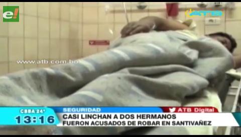 Vecinos de Huayñacota golpearon a dos hermanos
