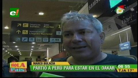 Bulacia parte hacia Perú para el Dakar