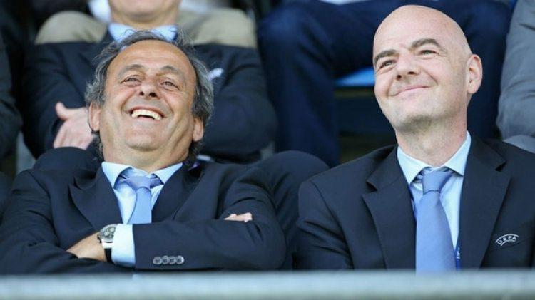 Infantino fue candidato luego de que Platini diese un paso al costado