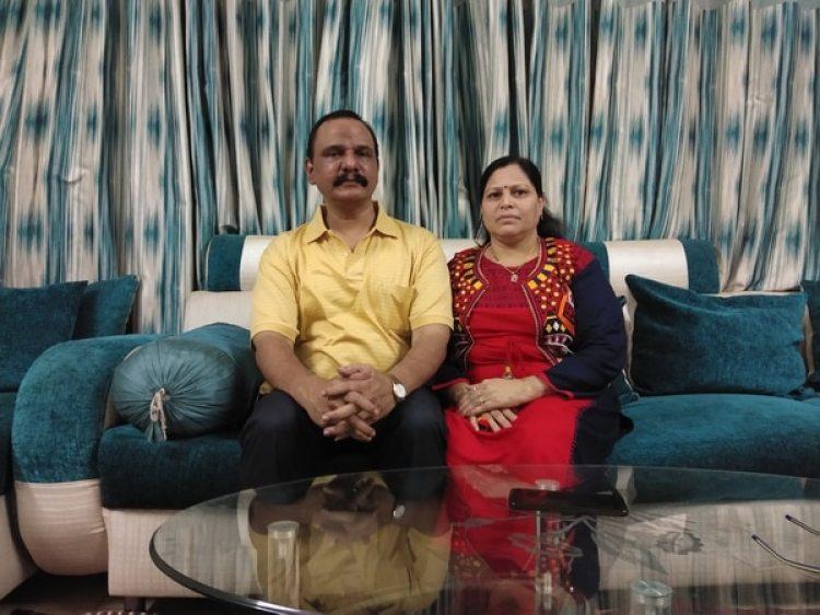 Krishna and Aruna Indrekar rechazaron someterse al test de virginidad después de su matrimonio en 1996 (The Washington Post / Vidhi Doshi)