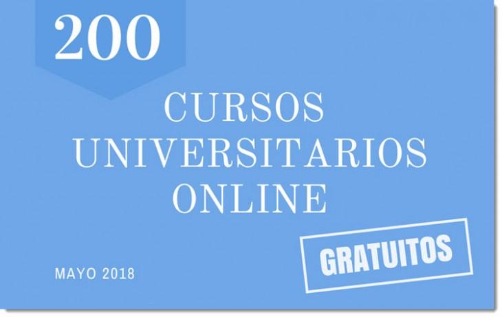 Cursos universitarios - Mayo 2018