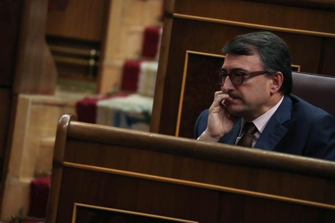 Aitor Estebar, portavoz del PNV
