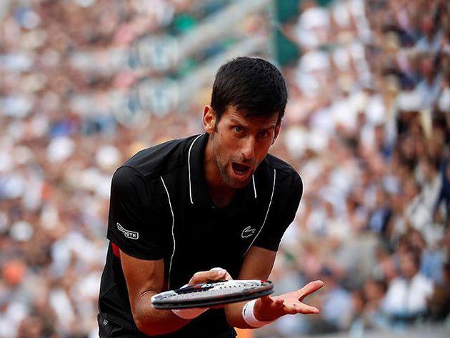 Djokovic fue eliminado de Roland Garros por el italiano Cecchinato